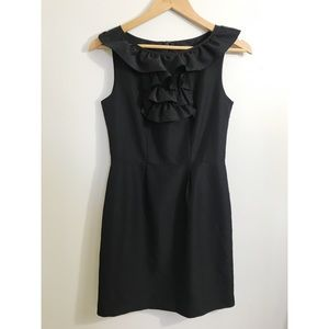 Banana Republic Black Sheath Dress Size 2